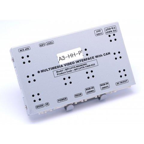Видеоинтерфейс для Audi A3 MMI Radio MMI Navigation Plus c 2014 г.в. + сенсорный LCD дисплей