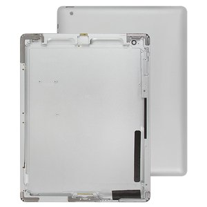 Back Cover compatible with iPad 2, (silver, (version Wi-Fi))