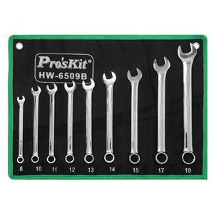 Combination Wrench Set Pro'sKit HW-6509B