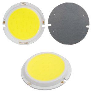 COB LED Chip 7 W (cold white, 450 lm, 43 mm, 300 mA, 21-23 V)