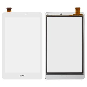 Touchscreen for Acer Iconia Tab W1-810-11HM Tablet, (white)