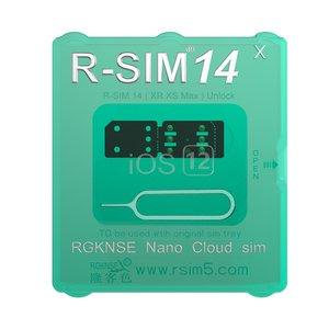 R-SIM 14 X Universal SIM Unlocking Card for iPhone XR / XS / MAX / X / 8 /  8 Plus / 7 / 7Plus / 6S / 6S Plus / 6 / 6 Plus / 5 SE / 5S