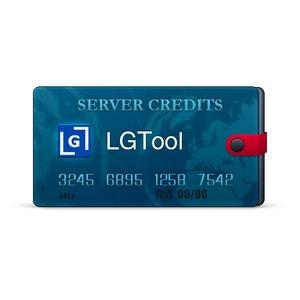 Créditos del servidor LGTool