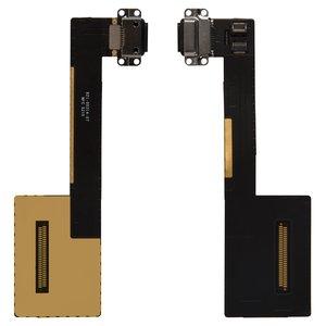 Cable flex para tablet PC Apple iPad Pro 9.7,  del conector de carga, con componentes, negro