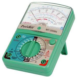 Точный аналоговый мультиметр Pro'sKit MT-2008N