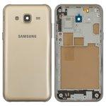 Корпус для Samsung J500H/DS Galaxy J5, золотистый