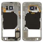 Средняя часть корпуса Samsung G920F Galaxy S6, черная