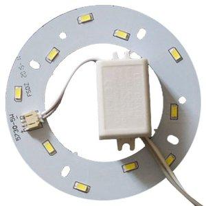 Комплект для сборки светодиодного светильника 5 Вт (естественный белый, круглый, 4000-4500 К)