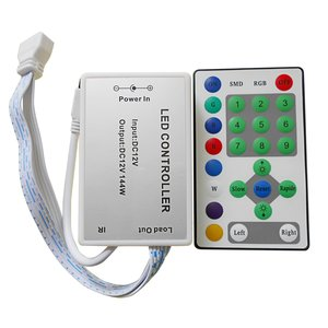 """Контроллер с ИК пультом HTL-030 (эффект """"Бегущая волна"""", 5050, 3528)"""