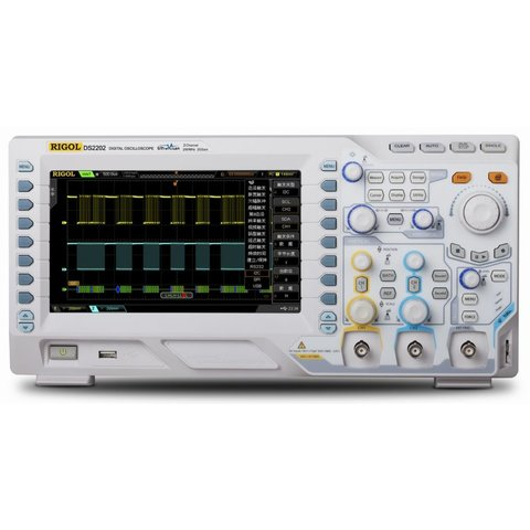 Цифровой осциллограф RIGOL DS2102