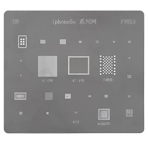 BGA трафарет P3025 для мобільного телефону Apple iPhone 5S, 25 в 1