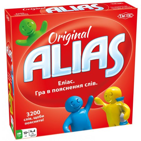 Настільна гра Tactic Alias Original