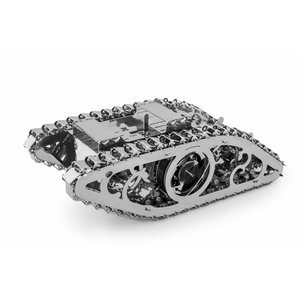 Metal Mechanical 3D Puzzle Time4Machine Marvel Tank