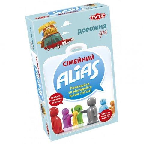 Настільна гра Tactic Сімейний Alias дорожня версія (українською мовою)