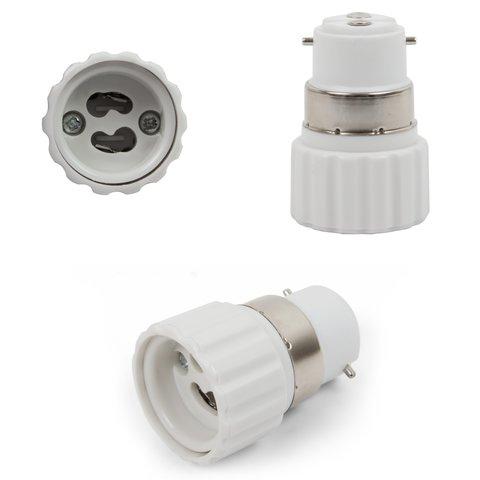 Base Adapter B22 to GU10, white
